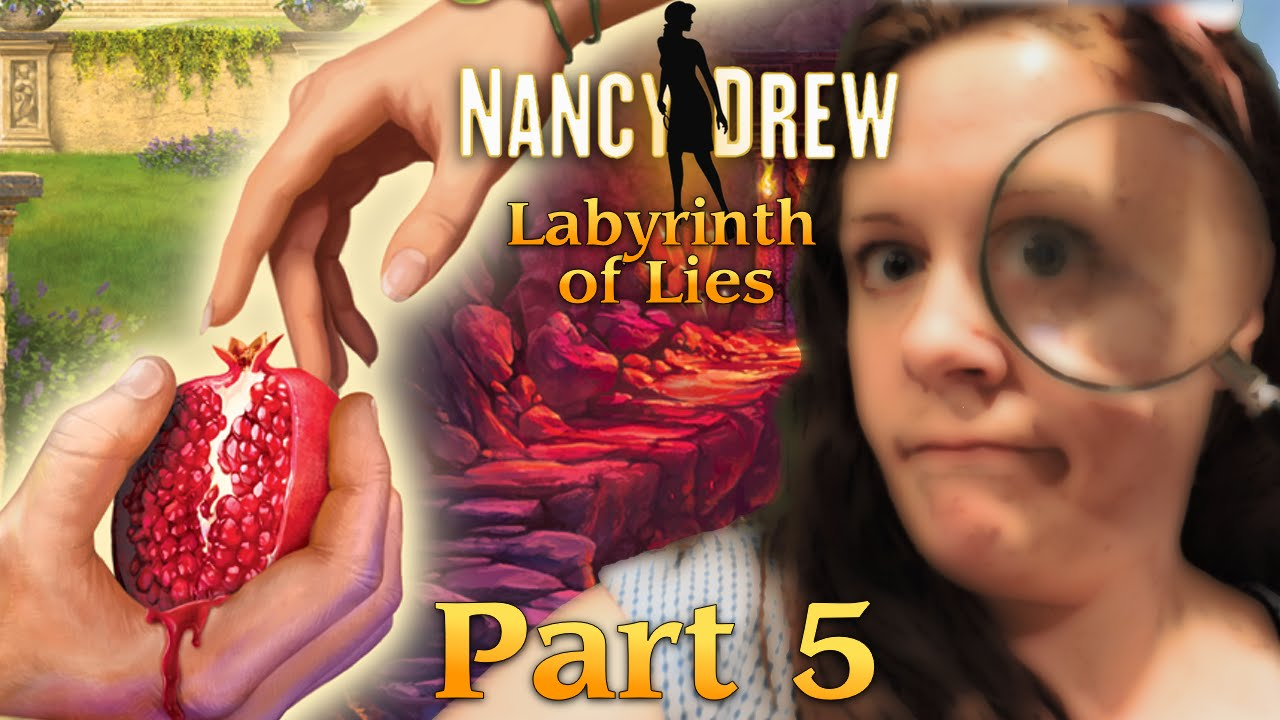 INAPPROPRIATE PUZZLE  Nancy Drew Labyrinth of Lies Part 5  YouTube