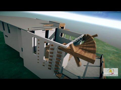 3d house and building construction buildup animation for 3d walk through house