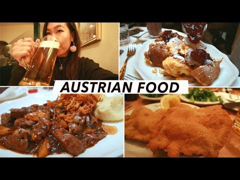 Austrian Food Tour: The BEST Schnitzels, Beer & Pancakes In Vienna | Vienna Food & Travel Vlog