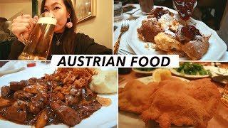Austrian Food Tour: The BEST Schnitzels, Beer & Pancakes In Vienna | Vienna Food & Travel Vlog