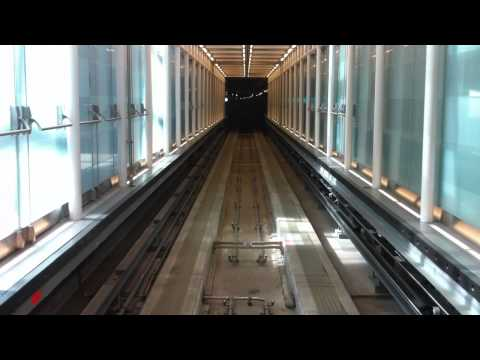 Dulles International Airport AeroTrain [HD]