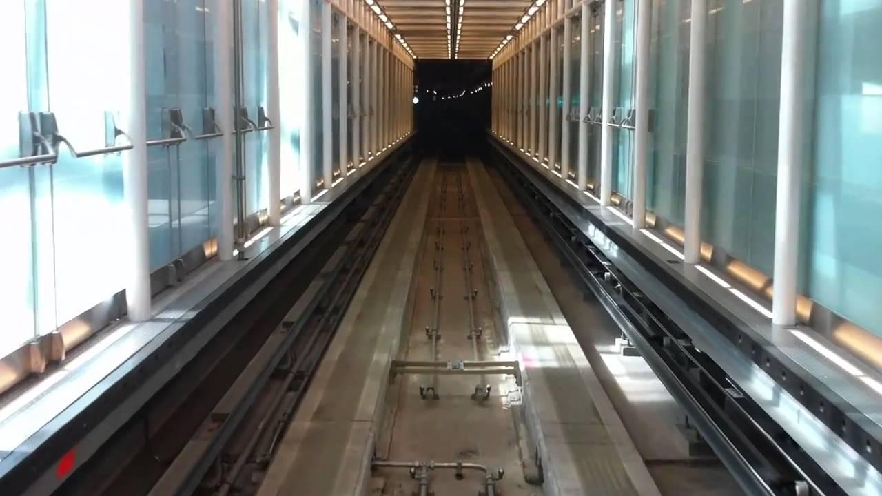 Dulles International Airport AeroTrain [HD] - YouTube