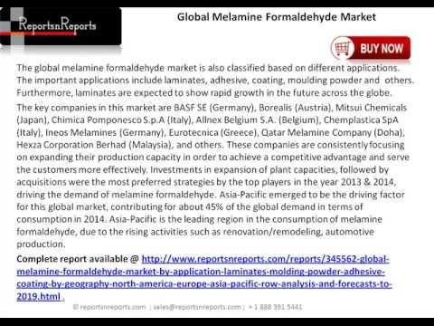 Melamine Formaldehyde Market : Application (Laminates, Molding Powder, Adhesive, Coating)