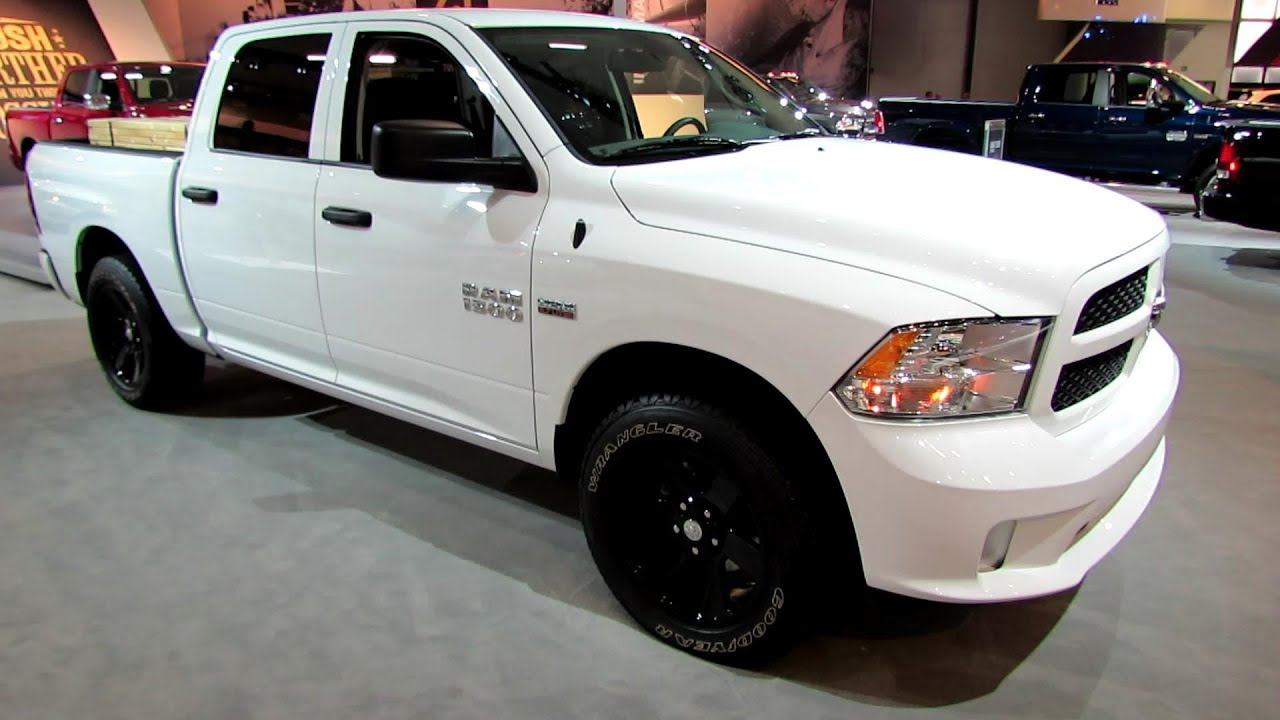 2014 Ram 1500 Express Exterior And Interior Walkaround