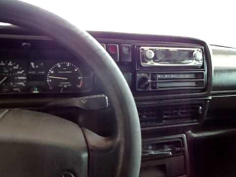 Volkswagen Jetta Se >> 1989 Volkswagen Golf Cold Start - YouTube