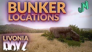 Livonia Bunker Locations Dayz Ps4 Xbox Pc