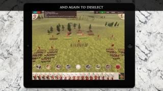Rome: Total War — управление на iPad
