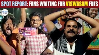 Viswasam FDFS Fans Celebration - 1am Show | LittleTalks