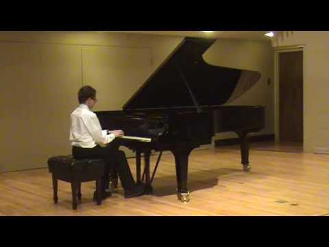Michael playing Northwoods Toccata