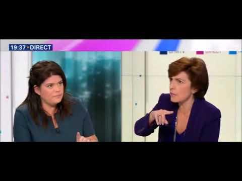 Vif échange entre Raquel Garrido (FI) et Ruth Elkrief (BFM) à propos de la démocratie