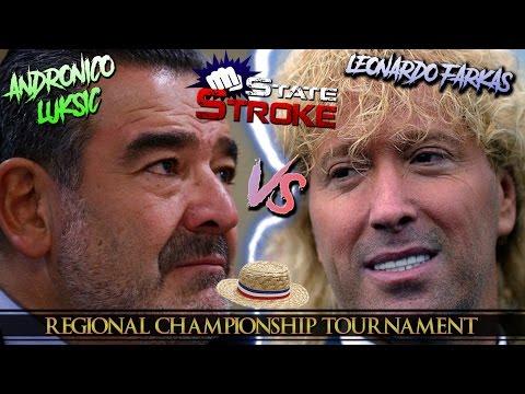 [State Stroke 04] Andrónico Luksic Vs. Leonardo Farkas - Regional Championship Tournament