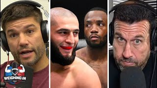 Did the UFC corner Leon Edwards into fighting Chimaev? | WEIGHING IN