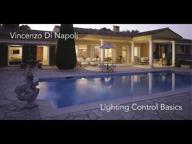 Luce e Colore tra Arte e Design | Vincenzo Di Napoli - Lighting Control Basics
