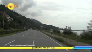 Çayeli Rize Arası Yol Ve Çevre Doğası