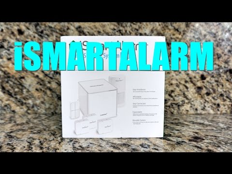 Unboxing #14: iSmartAlarm Home Security Plus Package (ISA8) | 2015