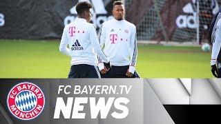 FCB near full strength in Mainz – Boateng set for milestone