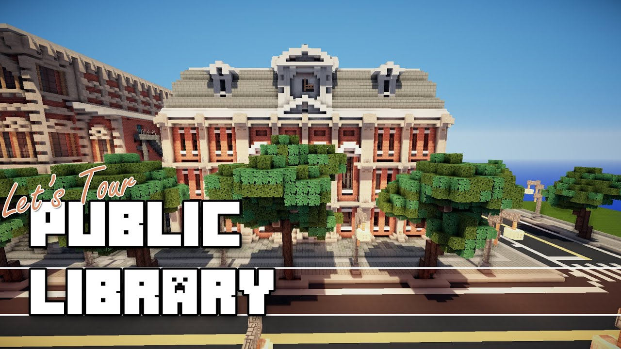 Build A Victorian House Minecraft Public Library Youtube