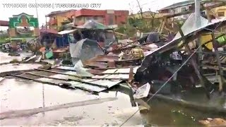 Watch the Landfall and Aftermath of Devastation of Typhoon Ompong (Sept. 15, 2018)