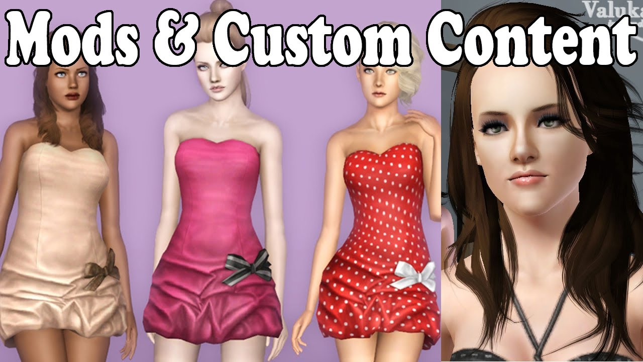 How to install mods custom content into the sims 3 for Schaukelstuhl sims 3