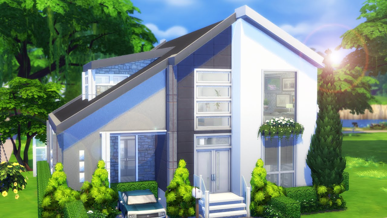 The Sims 4 House Building Diamond 39 S Drive Base Game Part 1 Youtube
