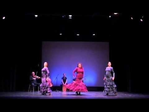 Toronto Canada Flamenco Company Ritmo Flamenco performs a Tientos