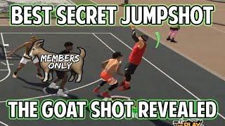 NBA 2K19 BEST UNRELEASED JUMPSHOT REVEALED! GOAT PURE SHARP DROPS SECRET SHOT!