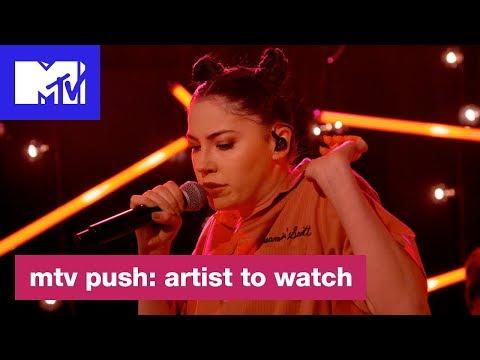 Bishop Briggs Performs 'Dream'   MTV Push: Artist to Watch
