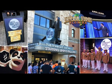 Race Through New York Starring Jimmy Fallon Soft Opens, Full Queue Experience & Construction Update
