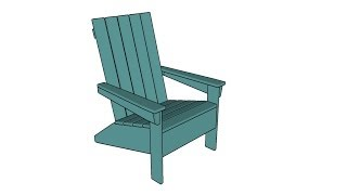 http://myoutdoorplans.com/furniture/free-adirondack-chair-plans/ SUBSCRIBE for a new DIY video almost every single day! If you