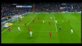Real Madrid - RCD Mallorca amazing goal by Luka Modric 16-03-2013