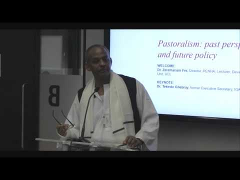 Pastoralism: past perspectives and future policy - Session 1