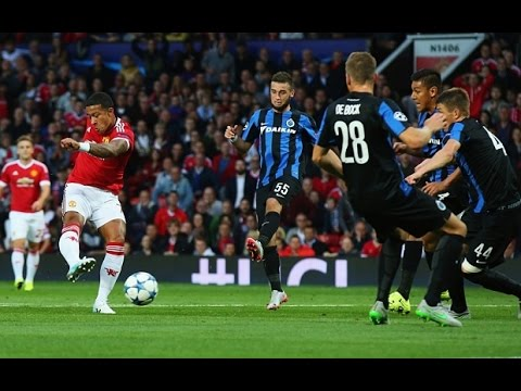 Manchester United vs Club Brugge 3-1 All Goals (18.8.2015)