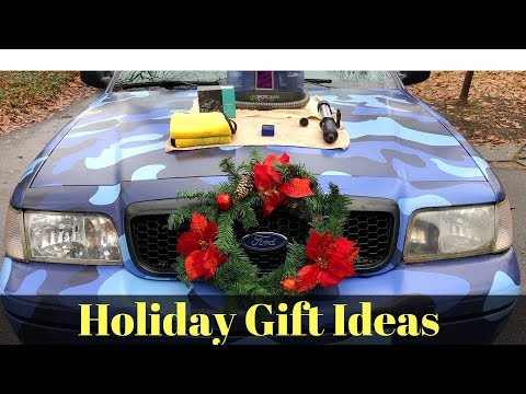 Holiday Gift Ideas for the Car Guy!