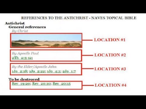 The Antichrist's NAME and ADDRESS - (Geography of the Antichrist)