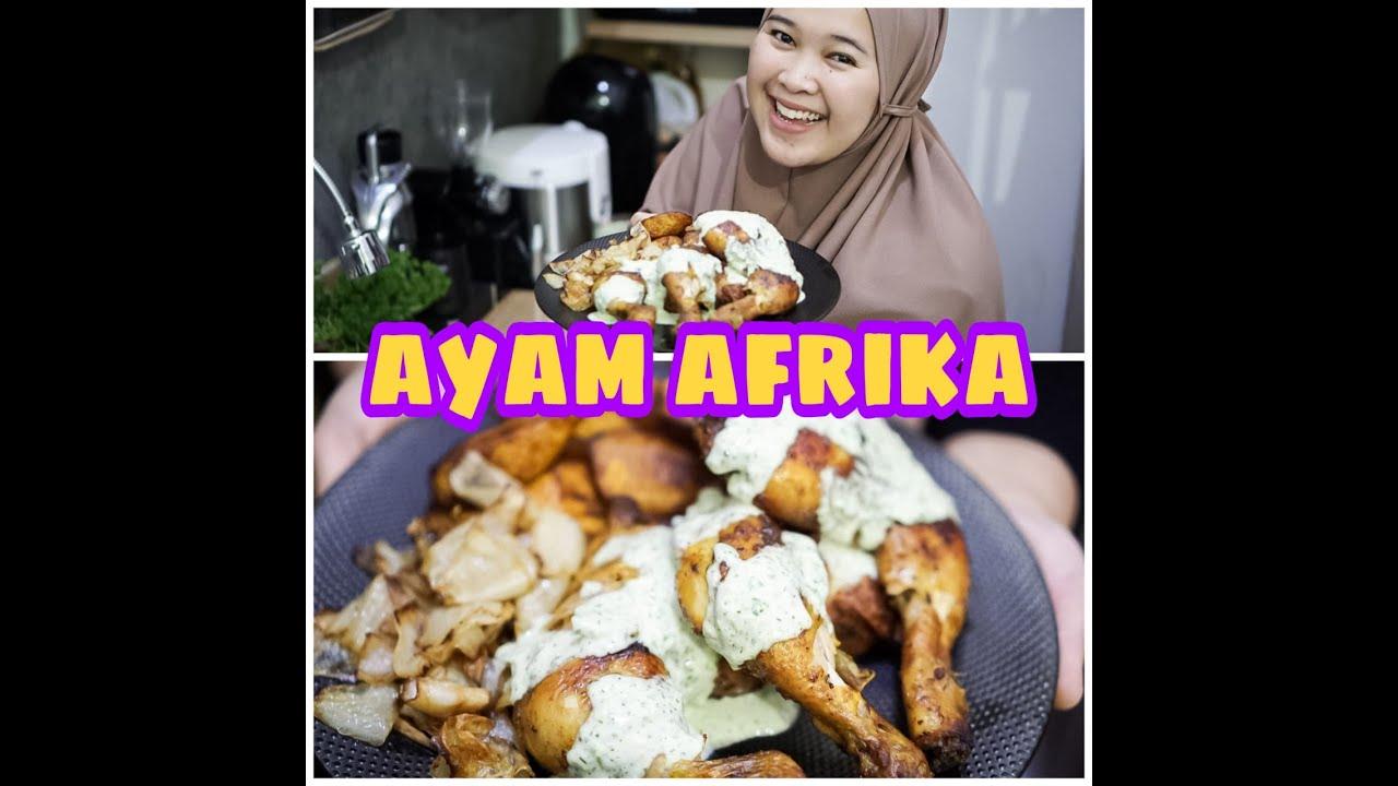 Resep Ayam Afrika