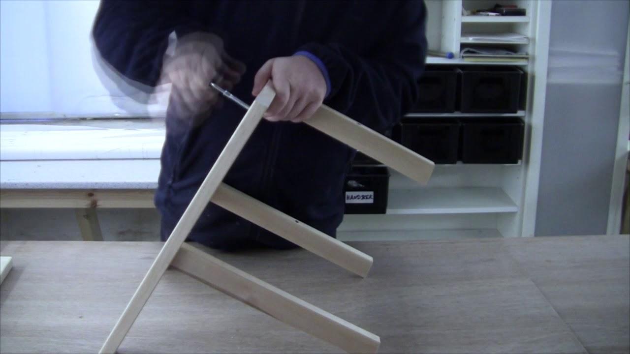 Assembling the ikea bekvÄm step stool youtube