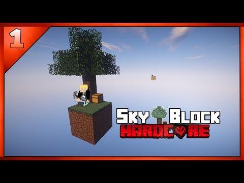 [Minecraft] Skyblock Harcore [Eesti Keeles] #1