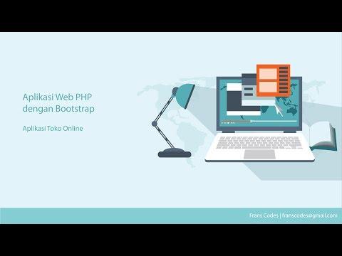Aplikasi Toko Online Web Php Dengan Bootstrap