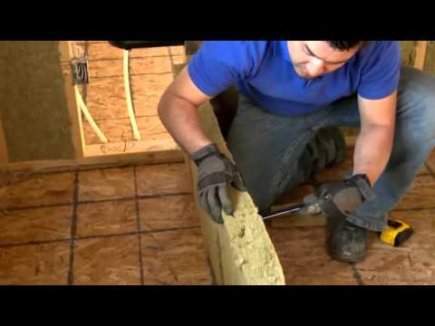 How To Install Home Insulation - Get the Right Fit with Roxul