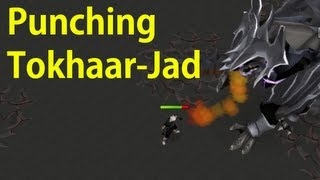 Punching Jad with no Prayer - Pre-Slayer Task Blocking Guide Help - Combat Fight Kiln Tokhaar-Jad