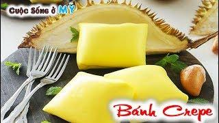 ❀//Vlog 138// Trải Nghiệm Bánh Crepe Nhân Sầu Riêng, Kem Sữa Tươi, Dâu, Chuối Và Hạt Dẻ Cực Kỳ Ngon.