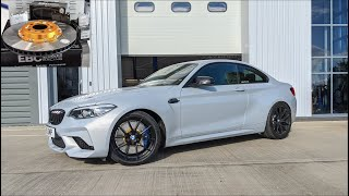 Serious brakes Fitted BMW M2 Competition