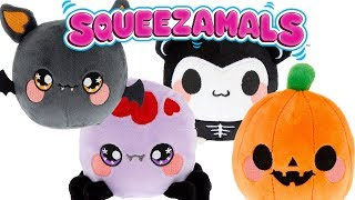 Halloween Squeezamals Claire's Exclusive Unboxing Toy Review