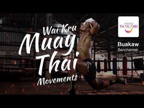 Wai Kru Muay Thai movements