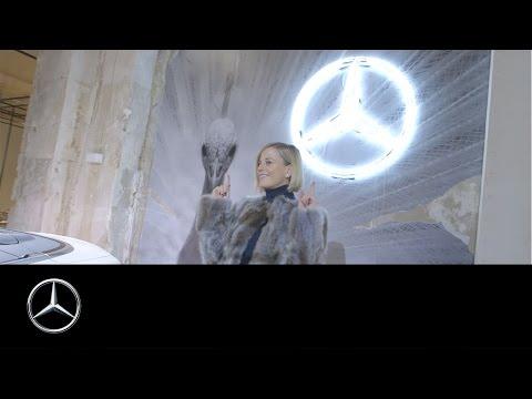 Stardrive: Susie Wolff auf der Mercedes-Benz Fashion Week in Berlin