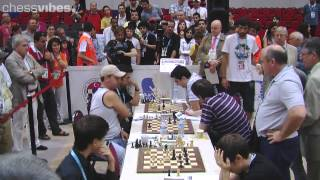 Istanbul Olympiad - the match USA-Russia