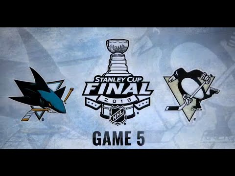 Stanley Cup Final 2016 NHL GAME 5 | Pittsburgh Penguins / San Jose Sharks