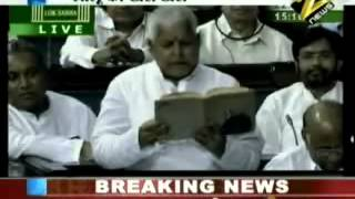 Lalu Prasad Yadav in Full Masti comedy mood