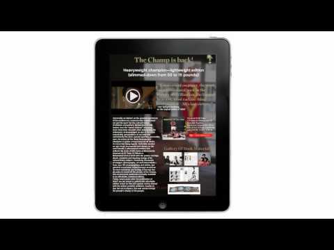 Taschen Tablet Magazine Demo