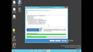Acronis Advanced Backup (English Subtitle) HYPER-V Win 2012 Server